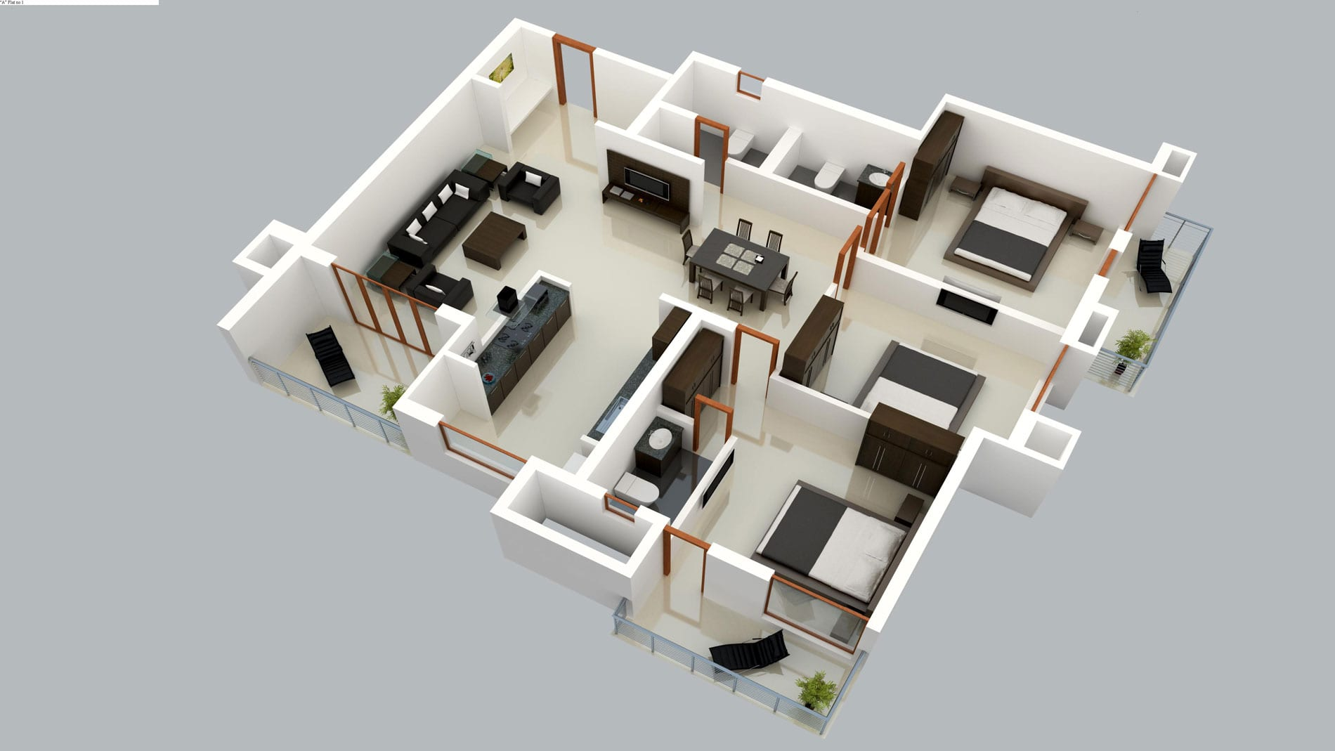 Multi storey house sample cad building map | powerpoint download.