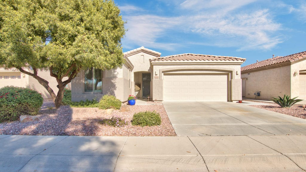 Home for Sale in Gilbert Arizona 55+ Community