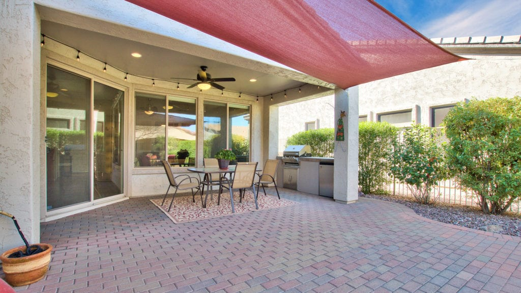 Gilbert AZ Home for Sale 55+ Community Patio