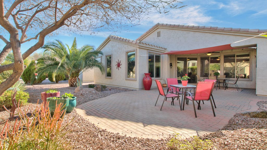 Power Ranch Gilbert Home for Sale Patio